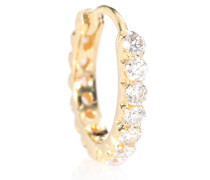 Ohrring Diamond Invisible Eternity Ring aus 18kt Gold
