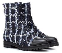 Exklusiv bei Mytheresa – Ankle Boots Haze Flat aus Tweed
