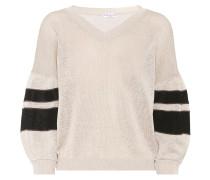 Verzierter Pullover aus Baumwolle