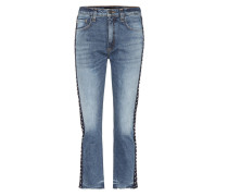 High-Rise Girlfriend Jeans Ines