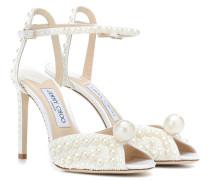 Verzierte Sandalen Sacora 100