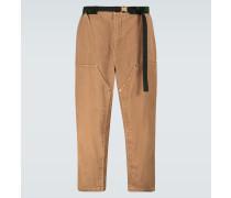 Verkürzte Hose aus Baumwollcord