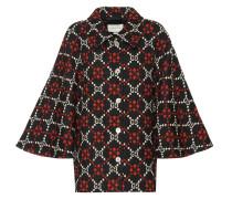 Cape-Jacke aus Wolle