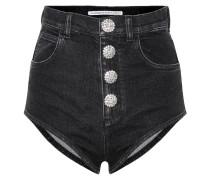 Shorts aus Baumwoll-Denim