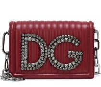 Schultertasche DG Girls aus Leder