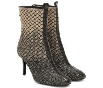 Ankle Boots Teodora mit Leder