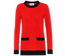 Pullover aus Wolle und Cashmere