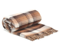 Zweiseitiger Schal aus Wolle