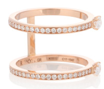 Ring Harvest aus 14kt Gelbgold mit Diamanten