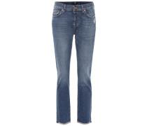 Mid-Rise Boyfriend Jeans Asher