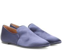 Loafers Alys aus Satin