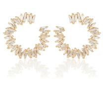 Ohrringe aus 18kt Gelbgold mit Diamanten
