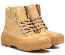 Ankle Boots Les Meuniers aus Leder