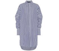 Alexander McQueen Gestreiftes Hemd aus Baumwolle