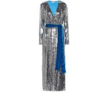 Robe aus Samt mit Pailletten