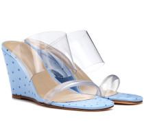 Sandalen Olympia mit Keilabsatz