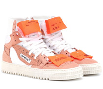 Sneakers Off-Court aus Leder