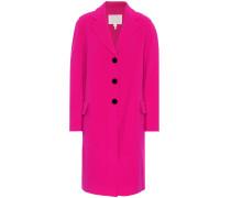 Oversize-Mantel aus Wolle