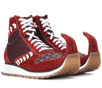 Sneakers Dinosaur aus Veloursleder