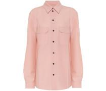 Bluse aus Wolle und Mohair