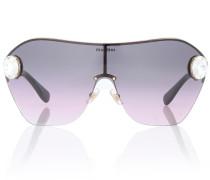 Verzierte Sonnenbrille Enchant