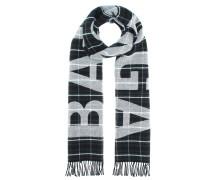 Karierter Schal aus Wolle