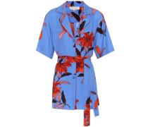 Bedruckter Bluse aus Twill
