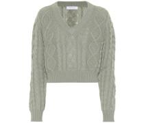Cropped-Pullover aus Kaschmir