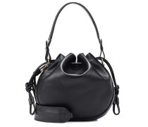 Bucket-Bag Small Bubble aus Leder