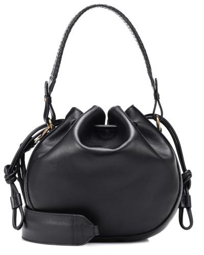 Bucket-Bag Small Bubble aus Leder