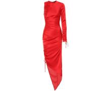 One-Shoulder-Kleid aus Satin
