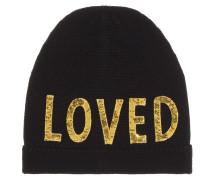 Verzierte Mütze aus Wolle
