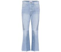 Jeans Le Panel Block Crop