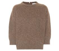 Pullover mit Woll- und Kaschmiranteil