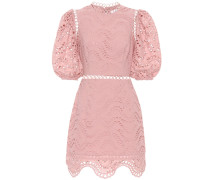 Exklusiv bei mytheresa – besticktes Minikleid aus Baumwoll-Voile