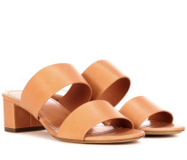 Sandalen Double Strap aus Leder