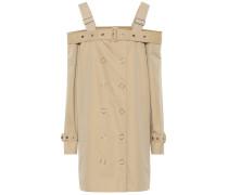 Kleid aus Baumwoll-Gabardine