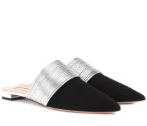 Slippers Rendez Vouz aus Veloursleder