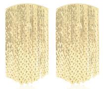 Ohrringe Fil d'Or mit 18kt Goldauflage