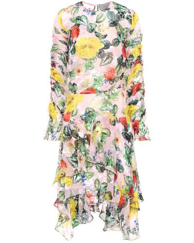 Kleid Oriana mit Seide