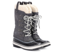 Boots Joan of Artic aus Veloursleder und Shearling