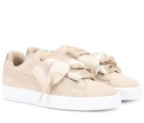 Sneakers Basket Heart