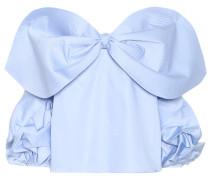 Schulterfreies Top aus Baumwolle