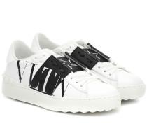 Sneakers Open VLTN aus Leder