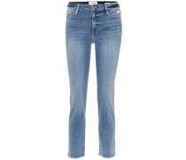 Jeans Le High Skinny aus Baumwolle