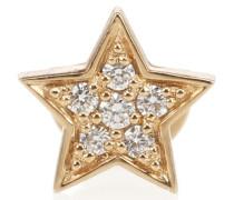 Einzelner Ohrring Etoile Diamant aus 18kt Gold