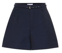 Shorts aus Twill