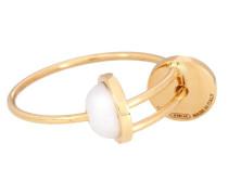Ring Sliding Drops aus 18kt Gold mit Perlen