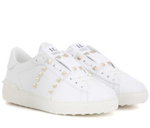 Sneakers Rockstud Untitled aus Leder