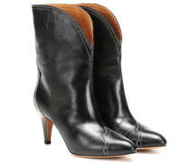 Ankle Boots Dythey aus Leder